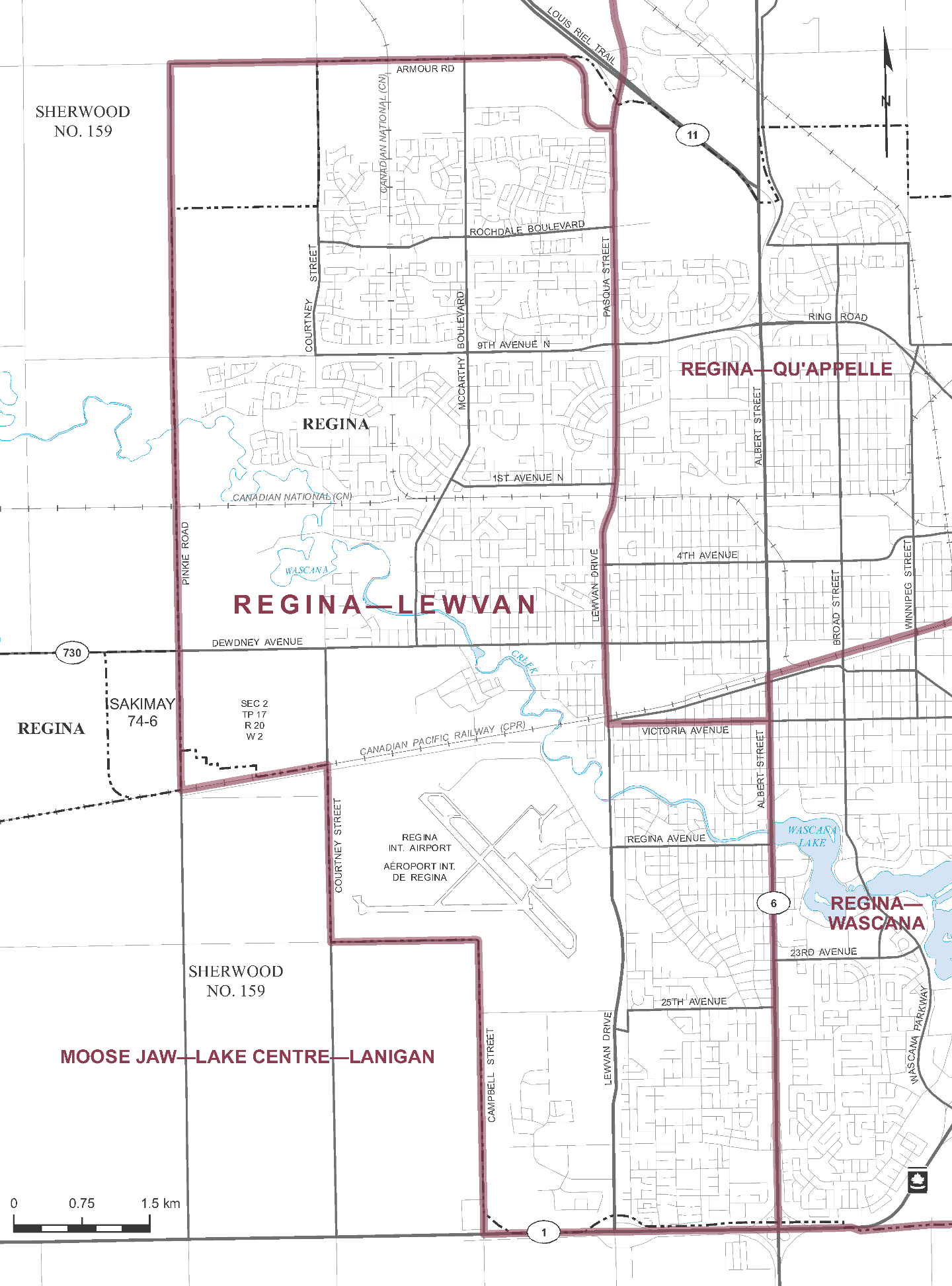Regina Lewvan Electoral District